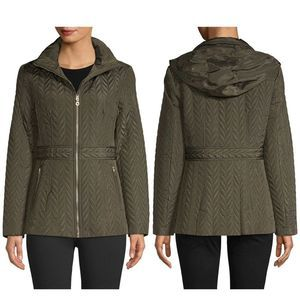 Kate Spade New York Green Quilted Green Jacket S